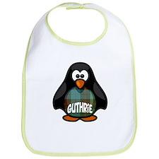 Guthrie Tartan Penguin Bib