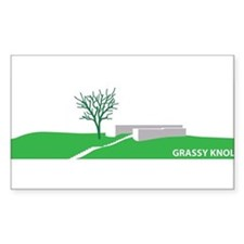 Grassy Knoll Stickers