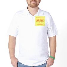 oscar wilde quote T-Shirt