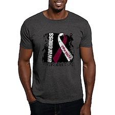 Grunge Throat Cancer T-Shirt