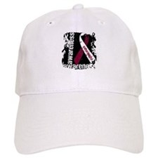 Grunge Throat Cancer Baseball Cap