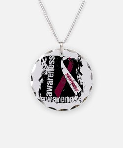 Grunge Throat Cancer Necklace