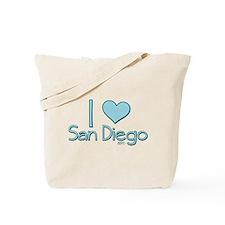 I heart San Diego Tote Bag