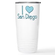 I heart San Diego Travel Mug