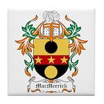 MacMerrick Coat of Arms Tile Coaster