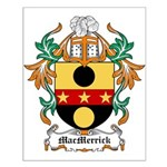 MacMerrick Coat of Arms Small Poster
