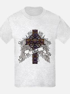 Elliot Tartan Cross T-Shirt