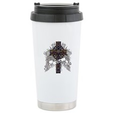Elliot Tartan Cross Travel Mug