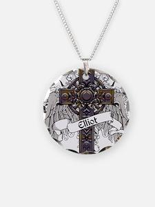 Elliot Tartan Cross Necklace