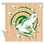 Frog Design Shower Curtain