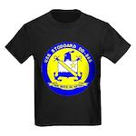 USS STODDARD Kids Dark T-Shirt
