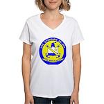 USS STODDARD Women's V-Neck T-Shirt