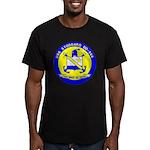 USS STODDARD Men's Fitted T-Shirt (dark)