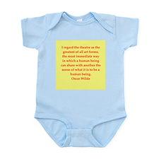 oscar wilde quote Infant Bodysuit