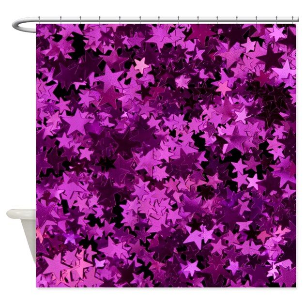 glitter sparkles shower curtain by alondrascreations