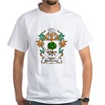 MacLuskie Coat of Arms White T-Shirt