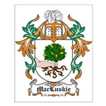 MacLuskie Coat of Arms Small Poster
