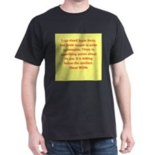 oscar wilde quote T-Shirt