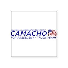 Camacho For President 2012 Election Campaign Squar