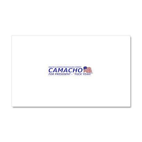 Camacho For President 2012 Election Campaign Car M