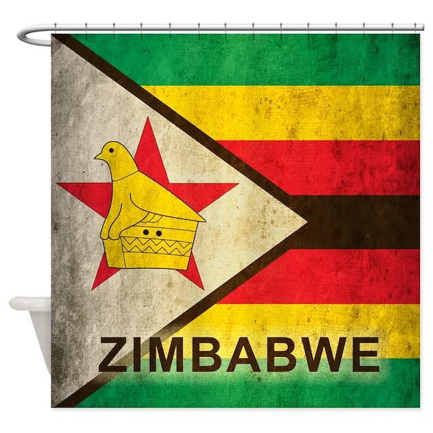 Vintage Zimbabwe Shower Curtain By Oneworldgear