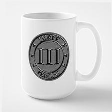Three Percent Silver Mug