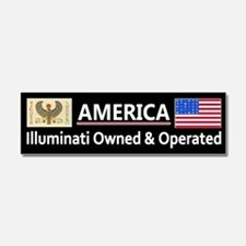 America is Owned Car Magnet 10 x 3