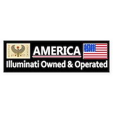 America is Owned Bumper Bumper Sticker