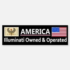 America is Owned Car Car Sticker