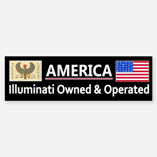 America is Owned Sticker (Bumper)