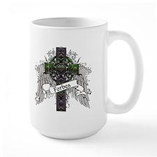 Forbes Tartan Cross Mug
