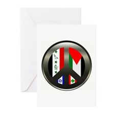 Peace in the Middle East Greeting Cards (Package o