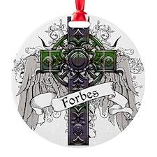 Forbes Tartan Cross Ornament