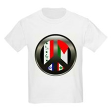 Peace in the Middle East Kids T-Shirt