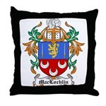 MacLochlin Coat of Arms Throw Pillow