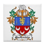 MacLochlin Coat of Arms Tile Coaster