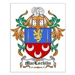 MacLochlin Coat of Arms Small Poster