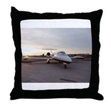 Lux Jet Throw Pillow