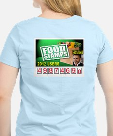 FOOD STAMP PRESIDENT T-Shirt