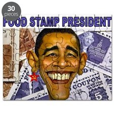 FOOD STAMP PRESIDENT Puzzle