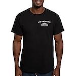 USS LAFAYETTE Men's Fitted T-Shirt (dark)