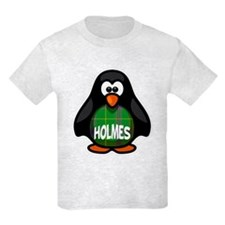 Holmes Tartan Penguin T-Shirt