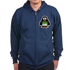 Holmes Tartan Penguin Zip Hoody