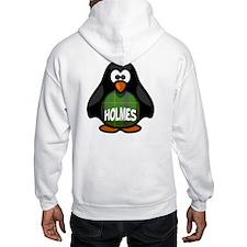 Holmes Tartan Penguin Jumper Hoody