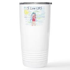 ilovelbiBig.jpg Travel Coffee Mug