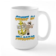 Navy Chief in Training little boy Mug