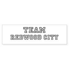 Team Redwood City Bumper Bumper Sticker