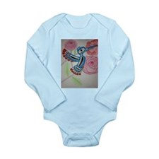 humming bird Long Sleeve Infant Bodysuit