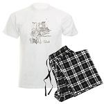 Vintage Utah Men's Light Pajamas