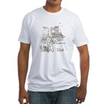 Vintage Utah Fitted T-Shirt